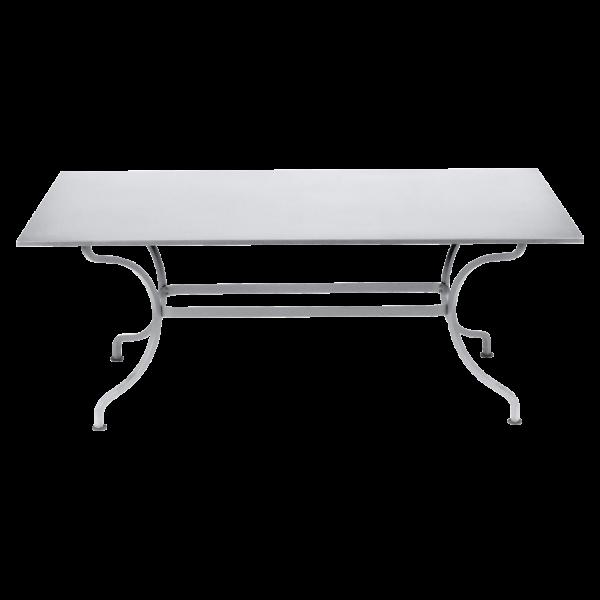 Tisch 180 x 100 cm Romane Baumwollweiß