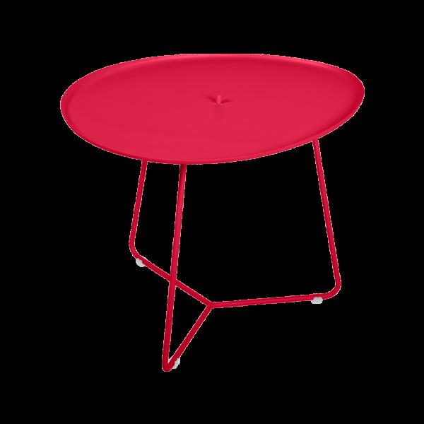 Cocotte, niedriger Tisch, abnehmbare Platte Rose Praline