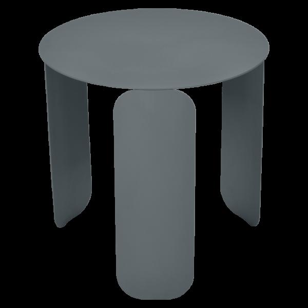 Bebop niedriger runder Tisch 45cm Gewittergrau