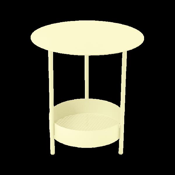 Kleiner Tisch Salsa Zitronensorbet