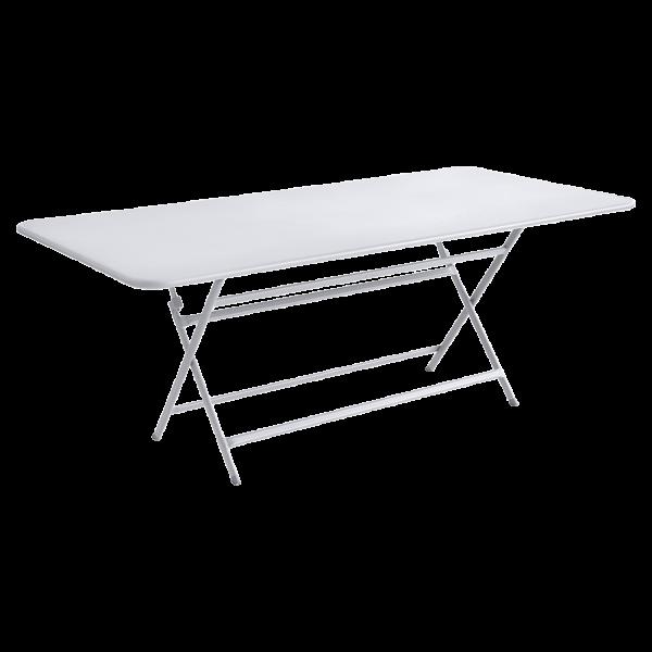 Tisch 190 x 90 cm Caractère Baumwollweiß