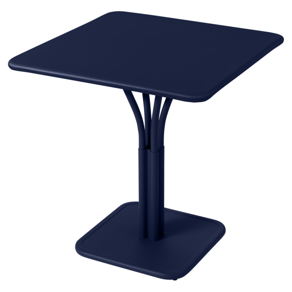 Tisch 71 x 71 cm Luxembourg Abyssblau