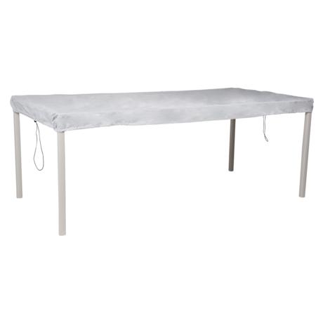 Schutzhülle 210 x 100 für Tische - grau