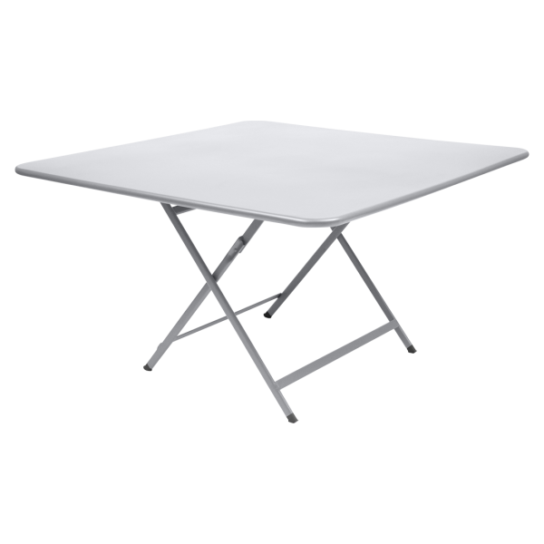 Tisch 128 x 128 cm Caractère Baumwollweiß
