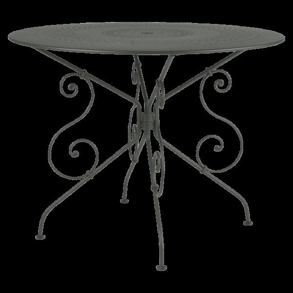 Tisch Ø 96 cm 1900 Rosmarin