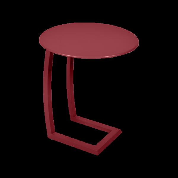 Alizé asymmetrischer niedriger Tisch Chili