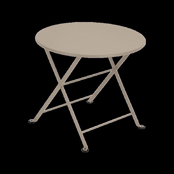 Niedriger Tisch Ø 55 cm Tom Pouce Muskat