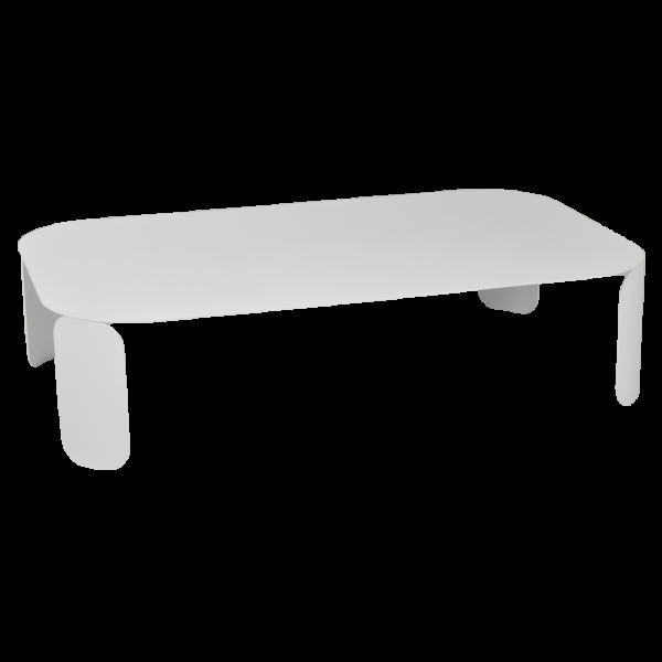 Niedriger Tisch Bebop 120x70, H29, Baumwollweiß