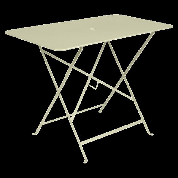 Tisch 97 x 57 cm Bistro Lindgrün
