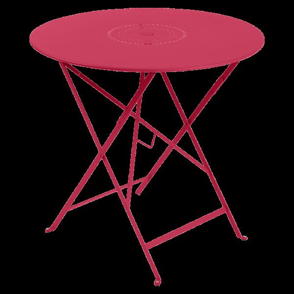Tisch Ø 77 cm Floréal Rose Praline