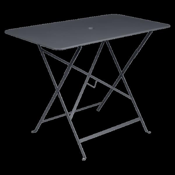 Tisch 97 x 57 cm Bistro Anthrazit