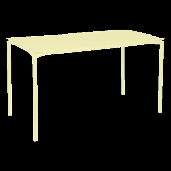 Calvi Hoher Tisch 160 x 80 cm Zitronensorbet