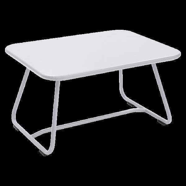 Niedriger Tisch Sixties Baumwollweiß