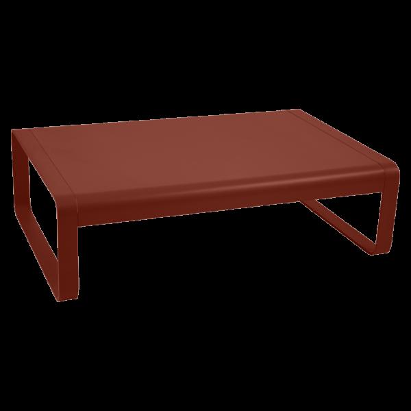 Niedriger Tisch Bellevie Ockerrot