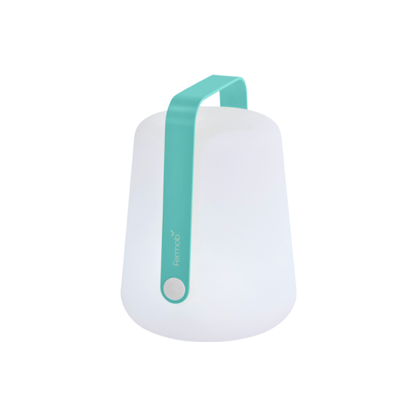 Lampe H.25 cm Balad Lagunenblau