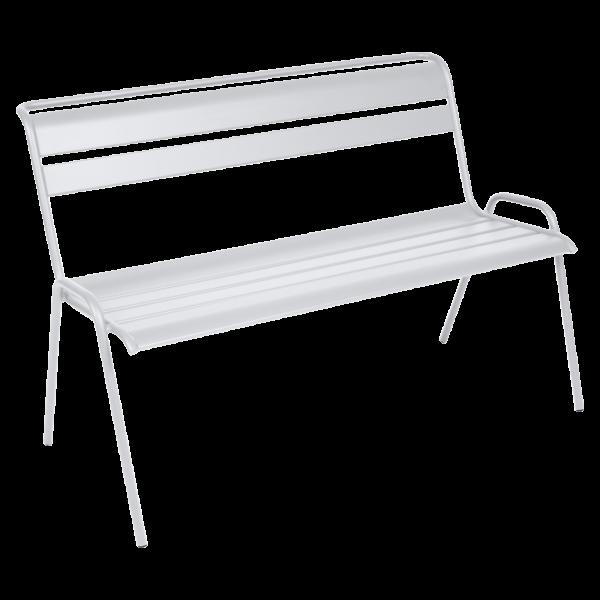 Bank 2/3-Sitzer Monceau Baumwollweiß