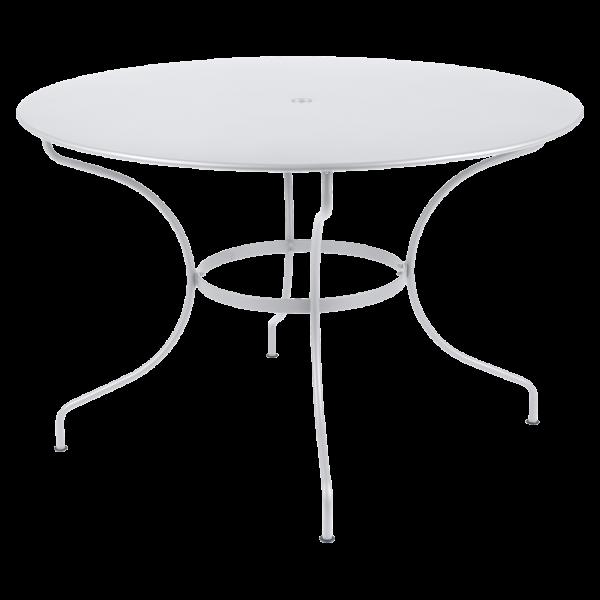 Tisch Ø 117 cm Opéra Baumwollweiß