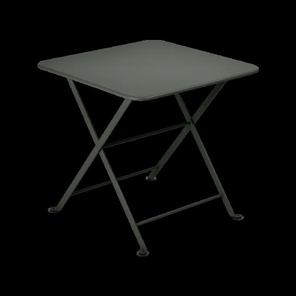 Niedriger Tisch 50 x 50 cm Tom Pouce Rosmarin