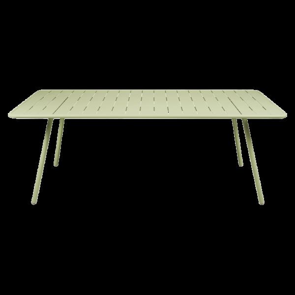 Tisch 207 x 100 cm Luxembourg Lindgrün