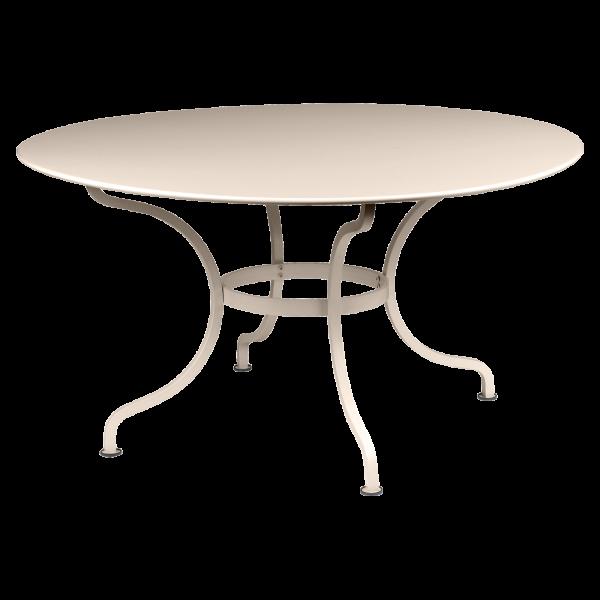 Tisch Ø 137 cm Romane Muskat