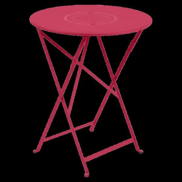 Tisch Ø 60 cm Floréal Rose Praline