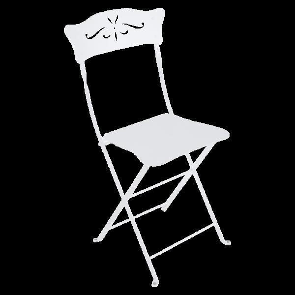 Stuhl Bagatelle Baumwollweiß
