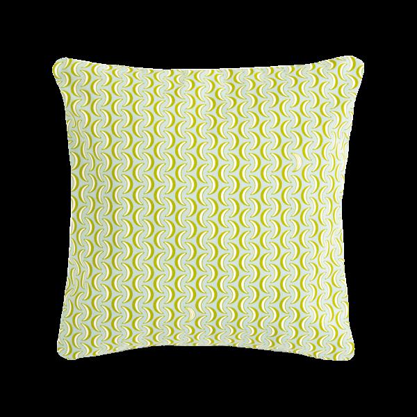 Kissen Bananes 44 x 44 cm Envie d'Ailleurs Opaline