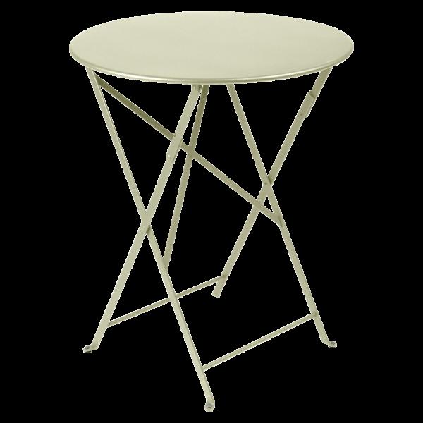 Tisch Ø 60 cm Bistro Lindgrün
