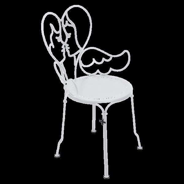Stuhl Ange Baumwollweiß