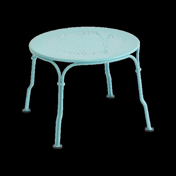 Niedriger Tisch 1900 Lagunenblau