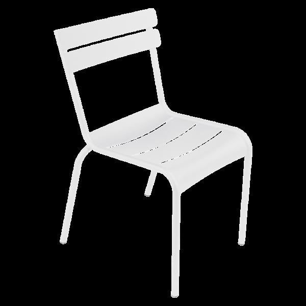 Stuhl Luxembourg Baumwollweiß