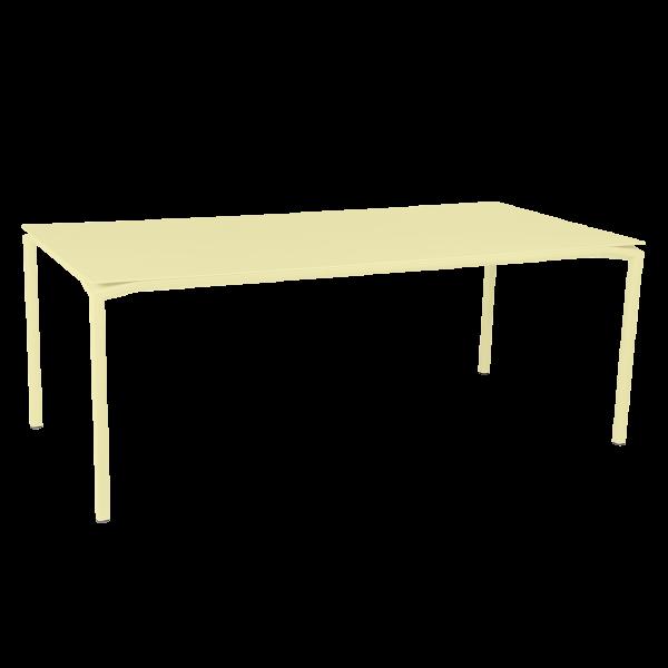Calvi Tisch 195 x 95 cm Zitronensorbet