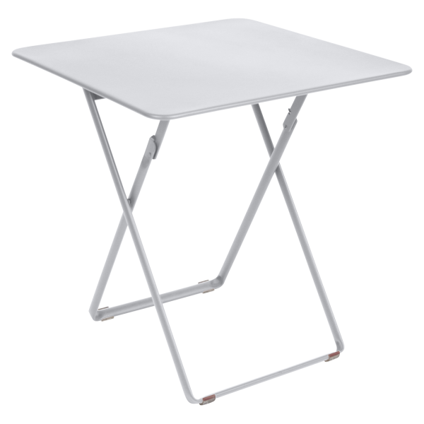 Tisch 71 x 71 cm Plein Air Baumwollweiß