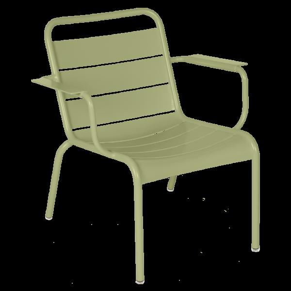 Luxembourg Lounge Sessel Lindgrün