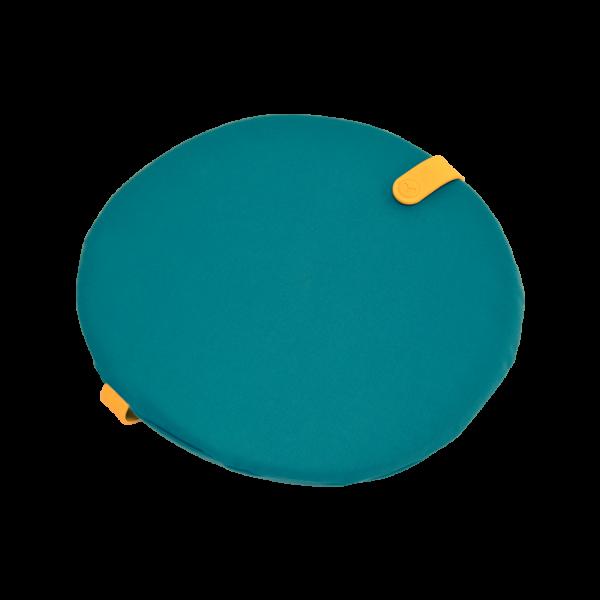 Rundes Kissen Ø 40 cm Color Mix Goablau