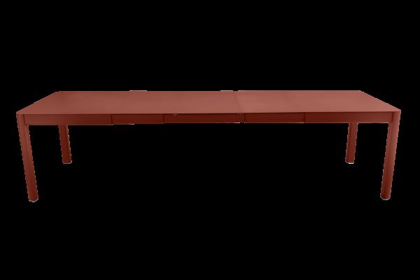 Tisch 149/299x100 cm Ribambelle Ockerrot