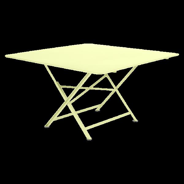Tisch 128 x 128 cm Cargo Zitronensorbet