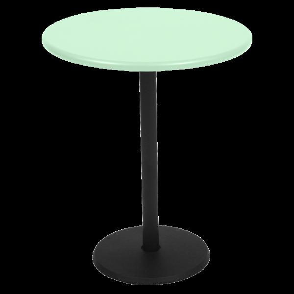 Tisch Ø 60 cm Concorde Premium Opalgrün