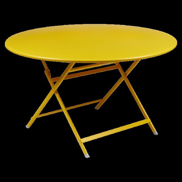Runder Tisch Caractère 128 cm - Durchmesser Honig