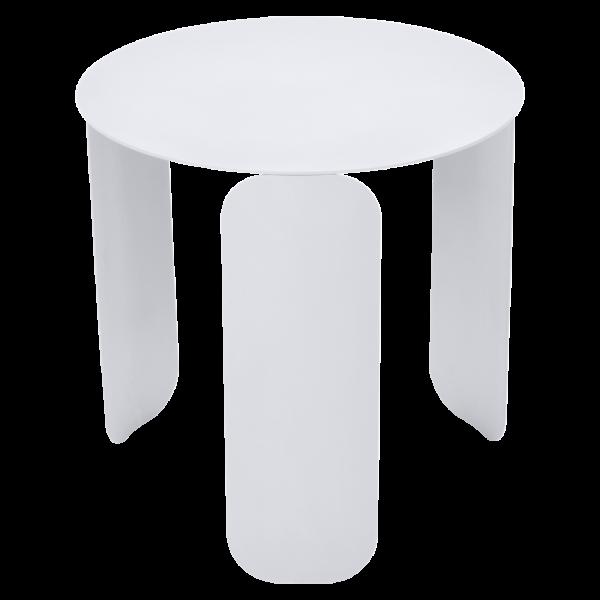 Bebop niedriger runder Tisch 45cm Baumwollweiß
