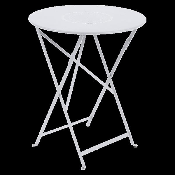 Tisch Ø 60 cm Floréal Baumwollweiß