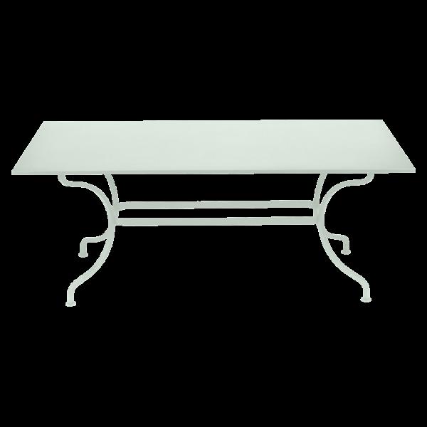 Tisch 180 x 100 cm Romane Gletscherminze