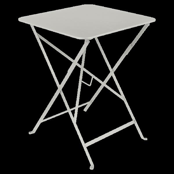 Bistro + 57 x 57 cm Lehmgrau