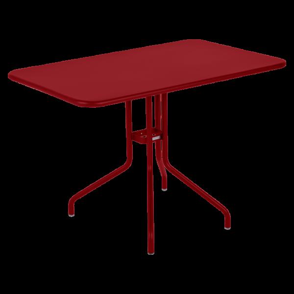 Tisch 110 x 70 cm Pétale Chili