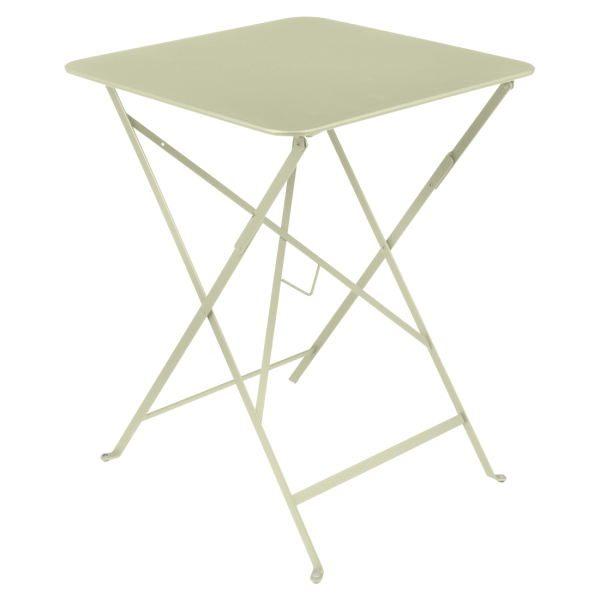 Tisch 57 x 57 cm Bistro Lindgrün