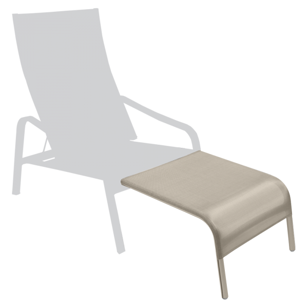 Alizé - Fußteil für den tiefen Sessel XX Muskat