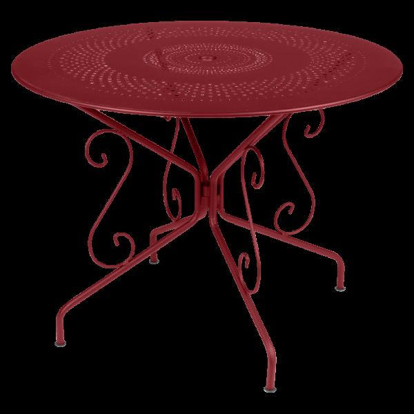 Tisch Ø 96 cm Montmartre Chili