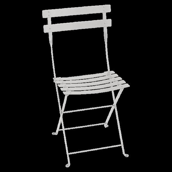 Stuhl Bistro Metallgrau