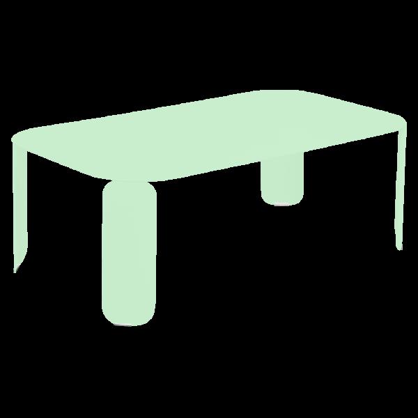 Niedriger Tisch Bebop 120x70, H42 Opalgrün