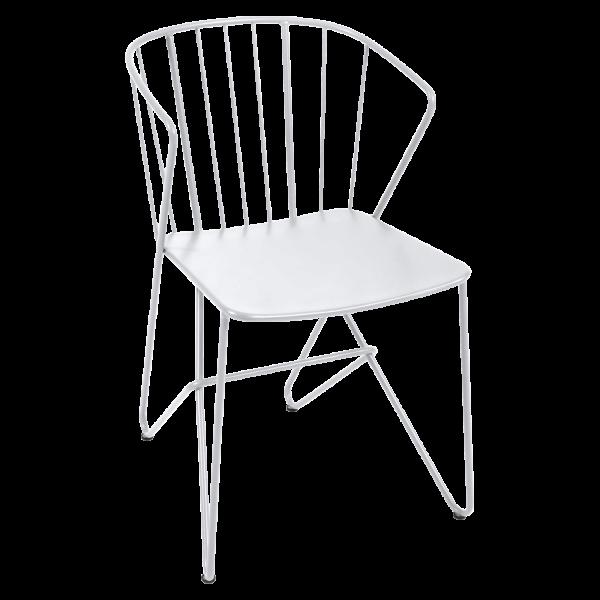 Sessel ohne Blumenmuster im Sitz Flower Baumwollweiß